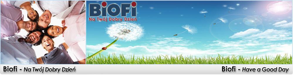 www.biofi.pl - Baner naszego sklepu