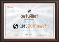 Certyfikat Allegro dla firmy Biofi