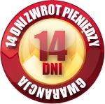 100% Gwarancji Satysfakcji - Zwrot pieniędzy w ciągu 14 dni bez pytania