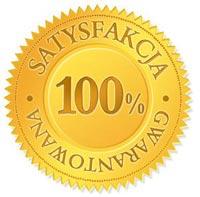 Gwarancja Satysfakcji 100%