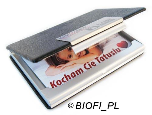Karta Pendrive GROZER - Opakowanie GB-10 Eco Leather RFID Holder Prezent na Imieniny