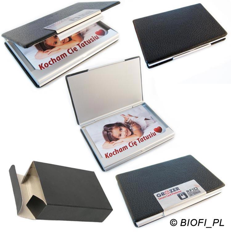 GROZER ETUI RFID - Eleganckie Etui ze Skóry Ekologicznej