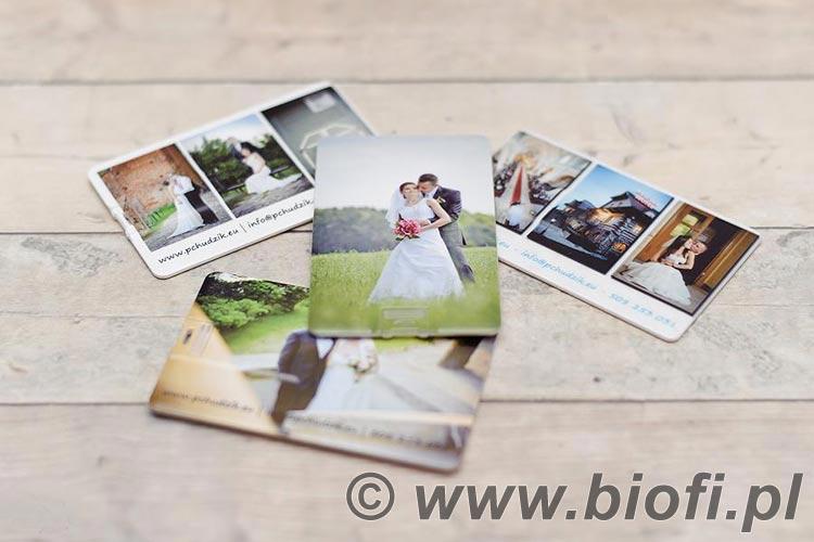 Pendrive Karta - Ślub, Wesele, Uroczystość - Świetna Pamiątka, Prezent, Upominek
