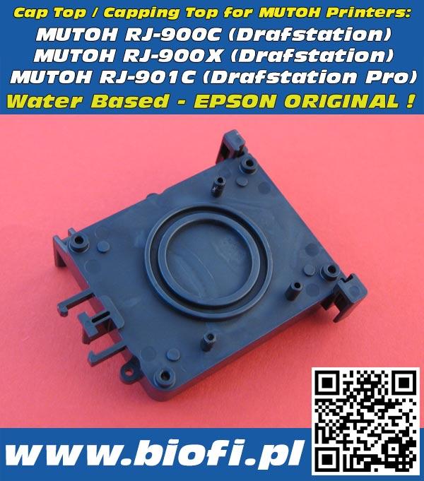 DX5 Cap Top, Capping - Wersja do Tuszy Wodnch - do drukarek MUTOH RJ-900C (Drafstation) MUTOH RJ-900X (Drafstation) MUTOH RJ-901C (Drafstation Pro)