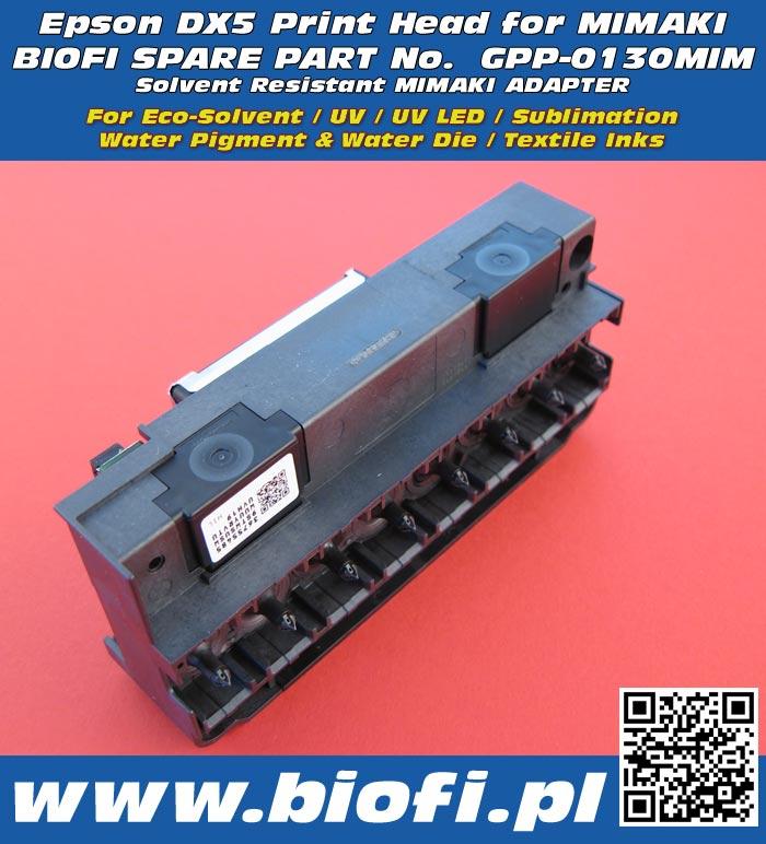 EPSON DX5 PrintHead for MIMAKI, GPP-0130MIM