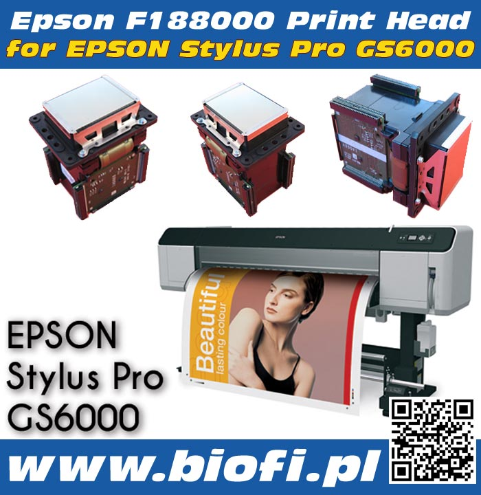 EPSON F188000 Print Head for EPSON Stylus Pro GS6000