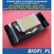 DX5 F187000 - GŁOWICA EPSON DX5 - Stylus Pro 4880-7880-9880 | Oryginal, Made In Japan