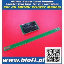 MUTOH Smart Card Reader - Adapter for CHIP Ink Level