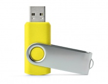 Pamięć USB 2.0 TWISTER 16 GB Kolor Żółty