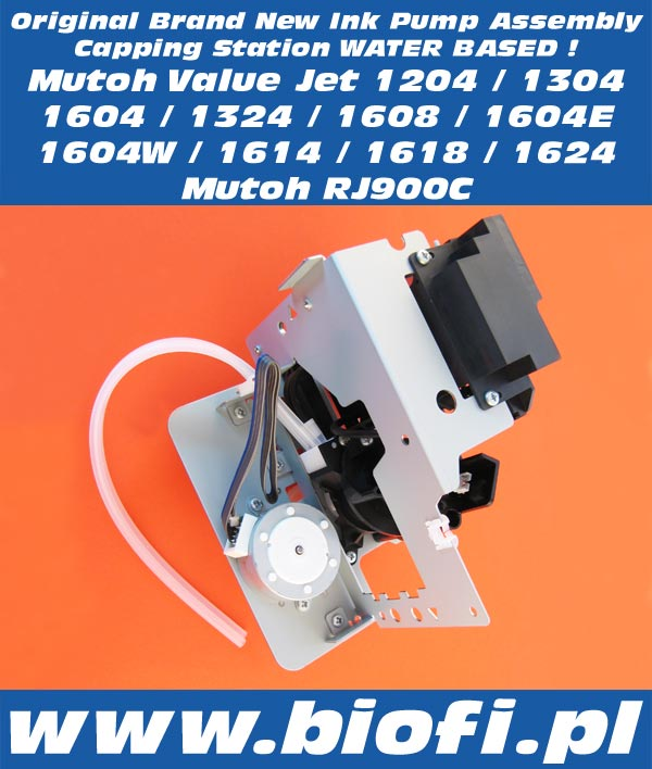 Capping Station Mutoh Value Jet 1604, Mutoh Value Jet 1304, Mutoh Value Jet 1204, Mutoh Value Jet 1604E, Mutoh Value Jet 1604W, Mutoh RJ900C