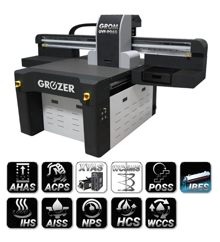 Maszyna Drukująca Flatbed GROZER GROM UVF-9060
