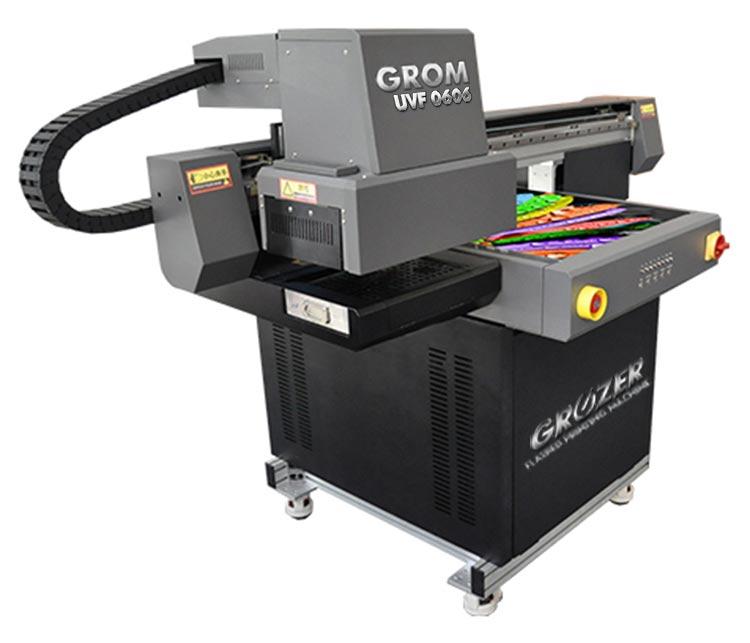Maszyna Drukująca Flatbed GROZER GROM UVF-0606