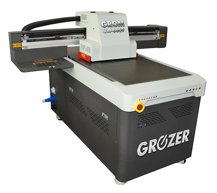 Maszyna Drukująca Flatbed GROZER GROM UVF-0609