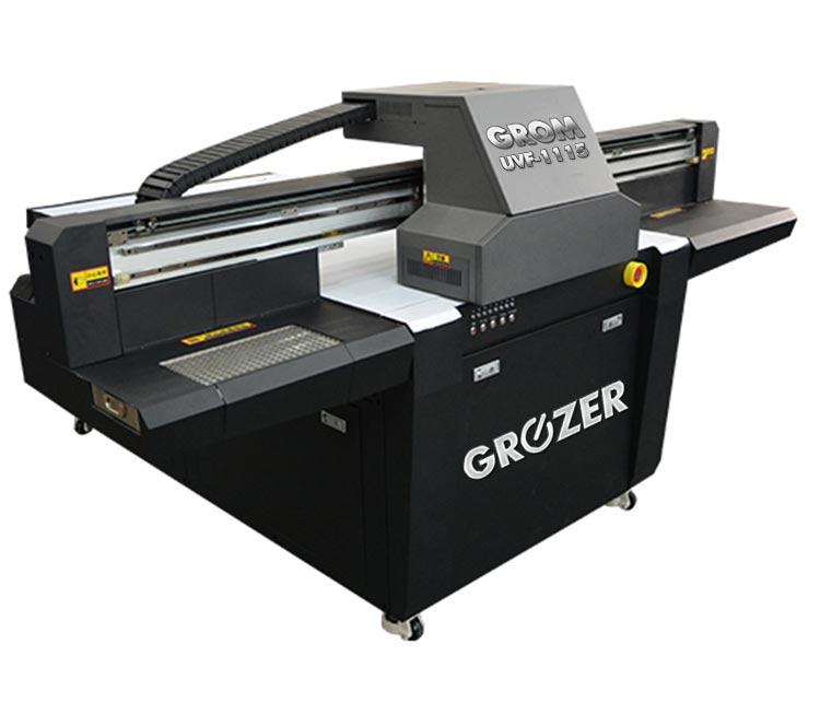 Maszyna Drukująca Flatbed GROZER GROM UVF-1115