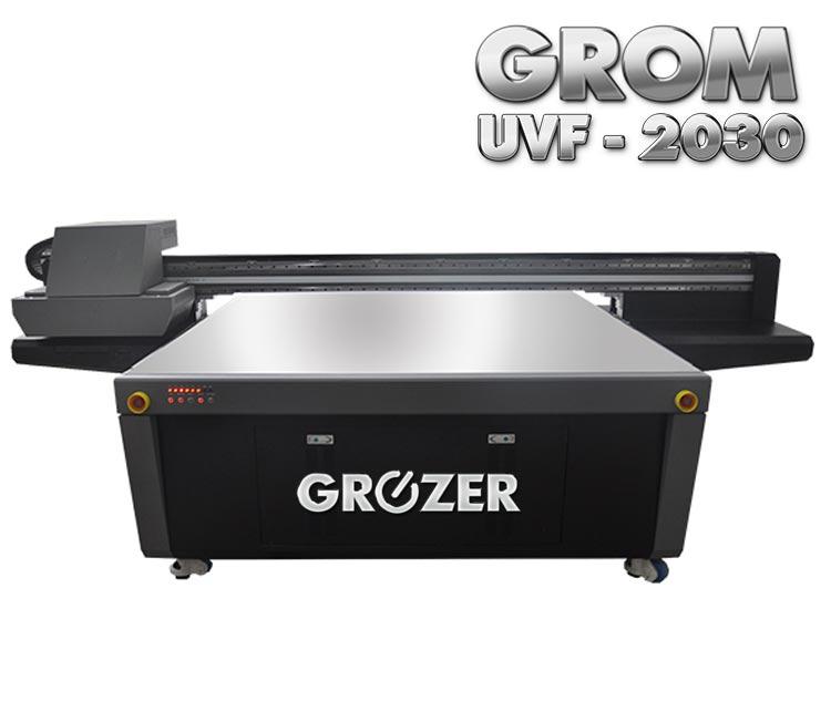 Maszyna Drukująca Flatbed GROZER GROM UVF-2030