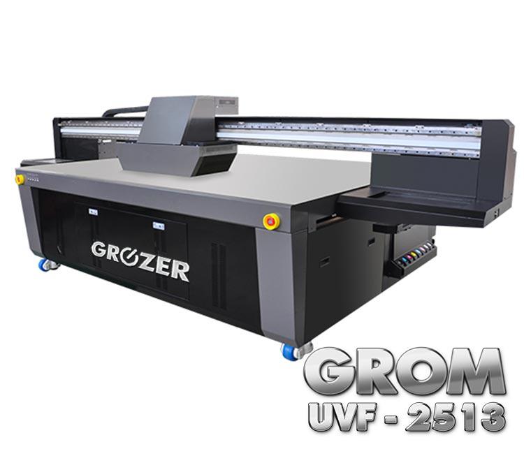 Maszyna Drukująca Flatbed GROZER GROM UVF-2513