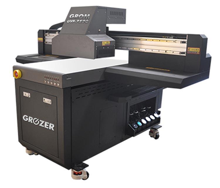 Maszyna Drukująca Flatbed GROZER GROM UVF-7590