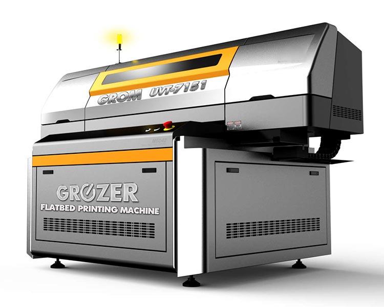 Maszyna Drukująca Flatbed GROZER GROM UVT-5171