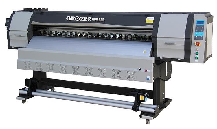 Roloewa Maszyna Drukująca GROZER UV LED 1,8M Model: WENA UVHR-180