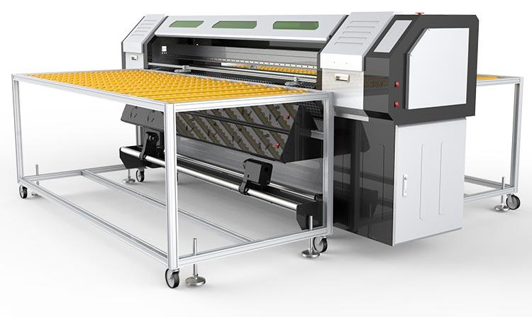 Hybrydowa Maszyna Drukująca GROZER UV LED 1,8m Model: WERWA UVHE-180