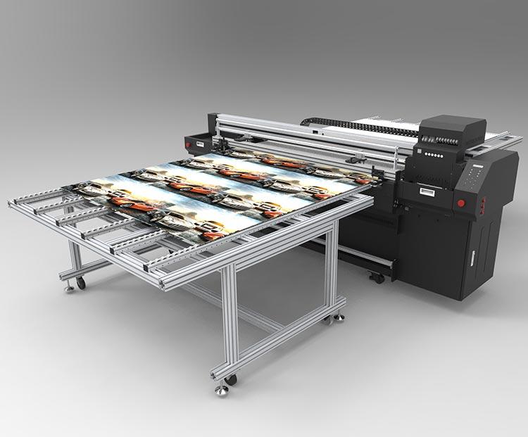 Hybrydowa Maszyna Drukująca GROZER UV LED 1,8m Model: WERWA UVHT-180