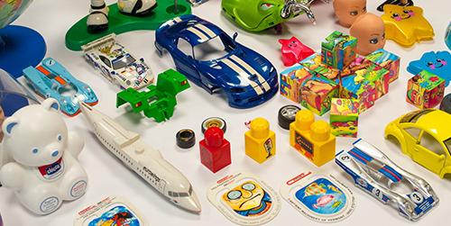 Druk na zabawkach, narzędziach biurowych